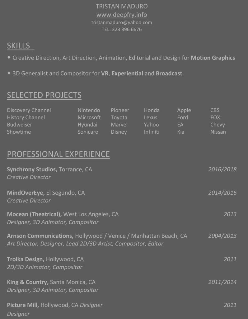 Microsoft Word - Resume_TristanMaduro-CREATIVE_DIRECTOR_002.docx